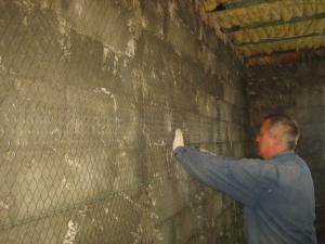 Правила оштукатуривания стен из пеноблоков