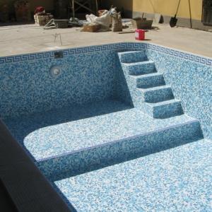 Варианты облицовки бассейнов